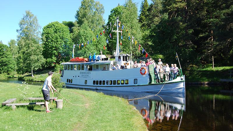 Dalslands Kanal, 3 dagar
