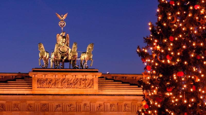 Potsdam & Berlins julmarknad