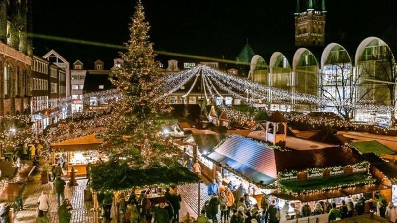 Timmendorferstrand med Lübecks julmarknad