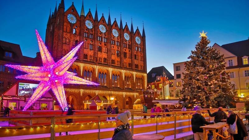 Stralsund Julmarknad, s