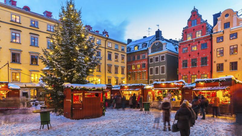 Jul i Stockholm, 4 dagar