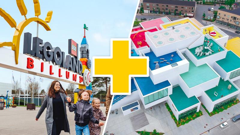 Legoland med LEGO House, 3 dagar