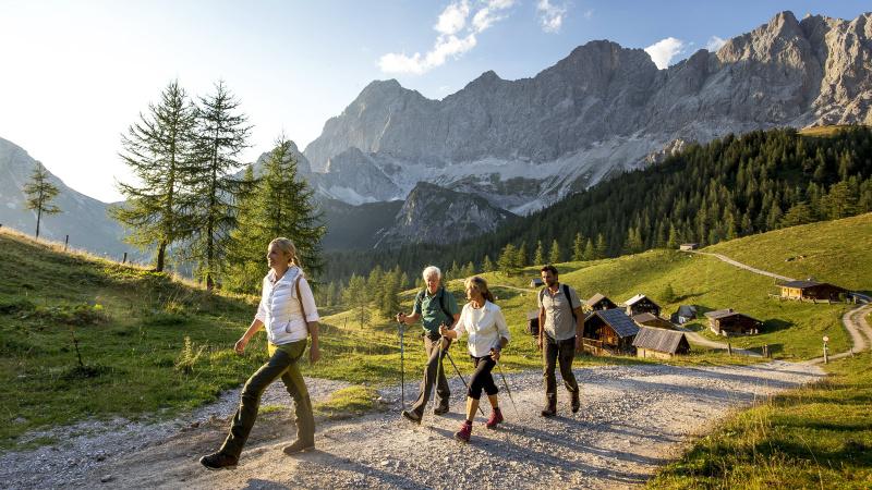 Österrike vandring, 8 dagar