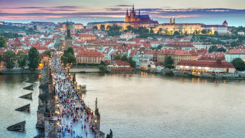Prag - mat, öl och kultur