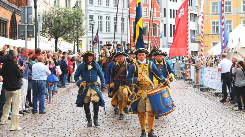 Schwerin med Schwedenfest i Wismar, 4 dagar