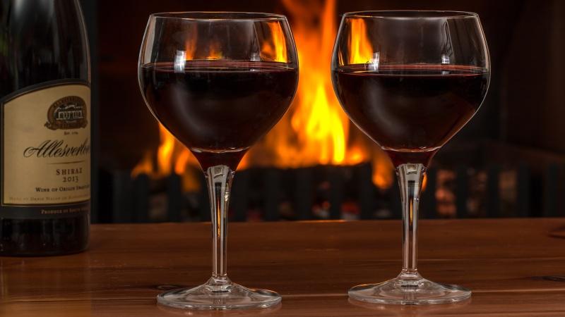 Vinprovning i Burg med oktoberfest