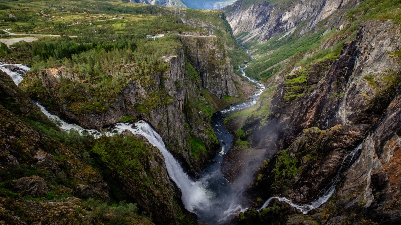 Voss–Hardangervidda–Drammen